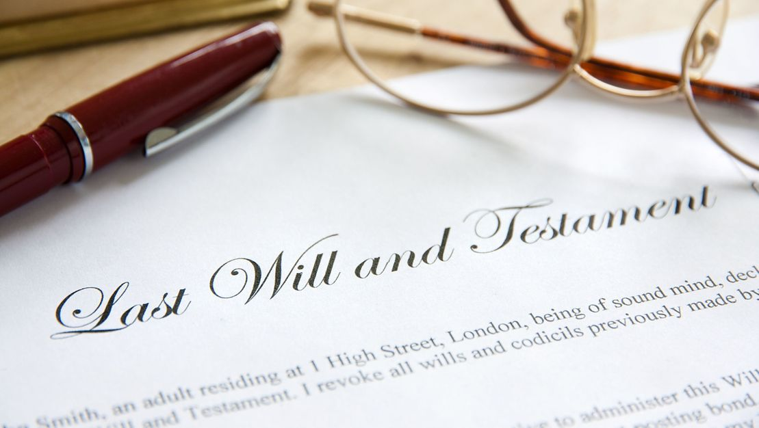 last will and testament for estate executor
